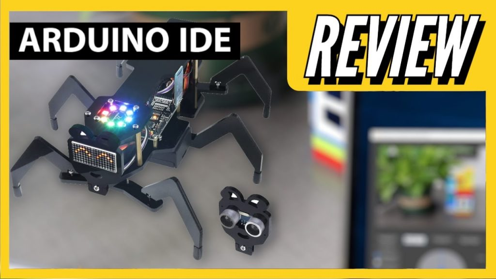 Arduino Ant Hexapod Robot | Easy build | REVIEW