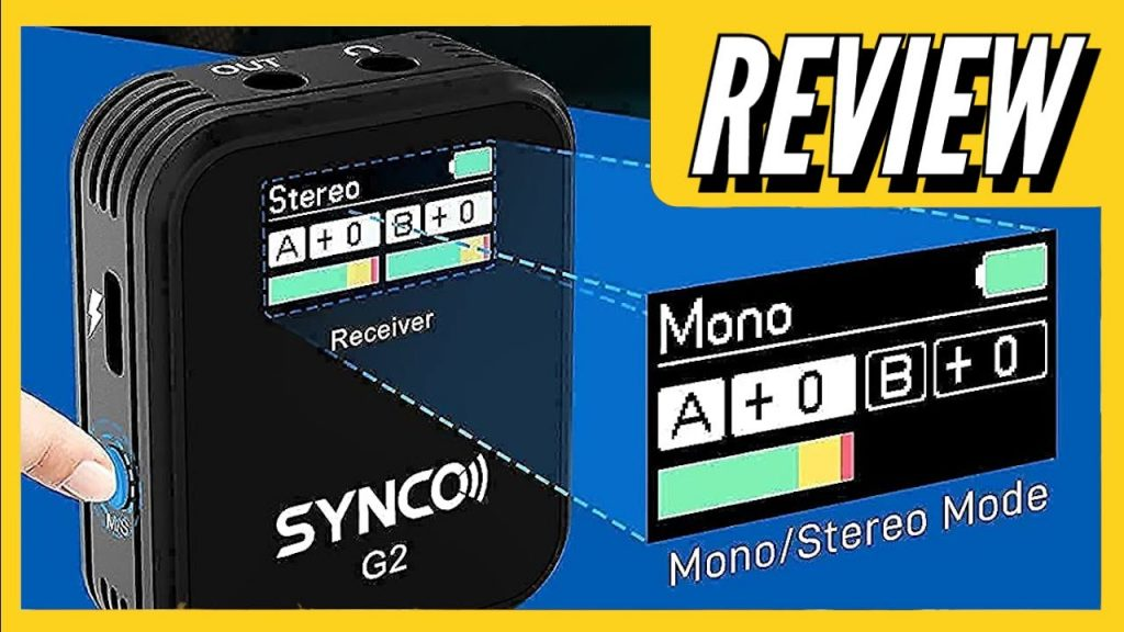 Professional Dual-Channel Microphone System   SYNCO G2(A2)   REVIEW
