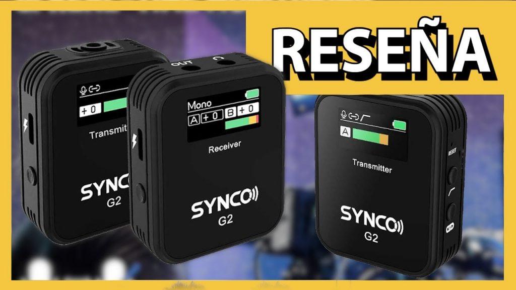 Sistema de micrófono profesional de doble canal | SYNCO G2(A2) | RESEÑA